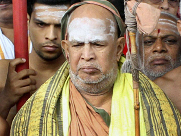 Jayendra and controversies