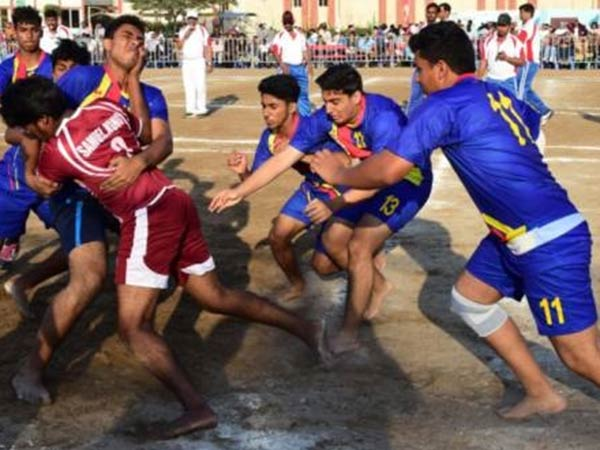 Kabadi competition held in Dubai