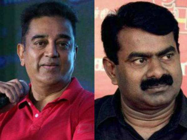 Seeman Slams Kamal Haasan