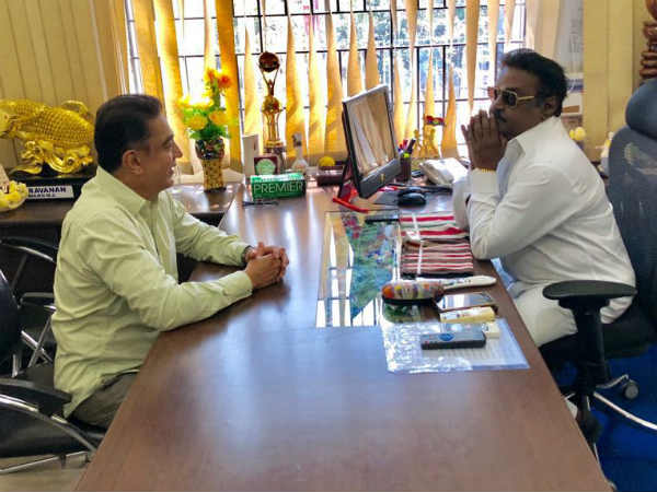 What may be the discussing point between Kamal Haasan and Vijayakanth