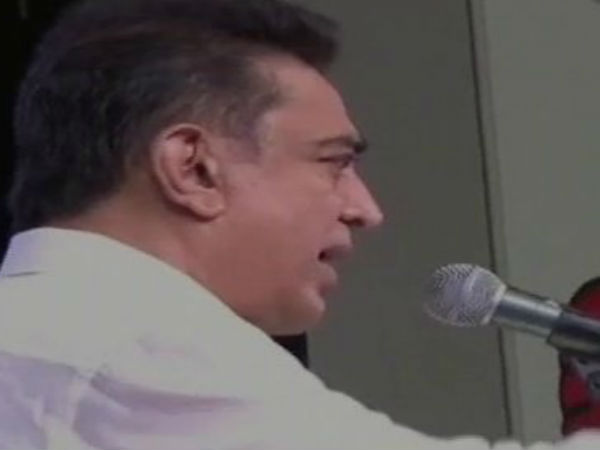 Kamal hassan says about Cauvery water issue