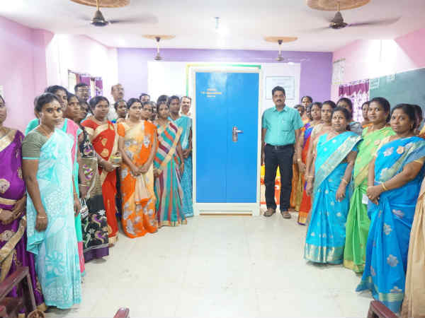 Karaikudi Ramanathan chettiyar high school conducts Vanga palagalam program