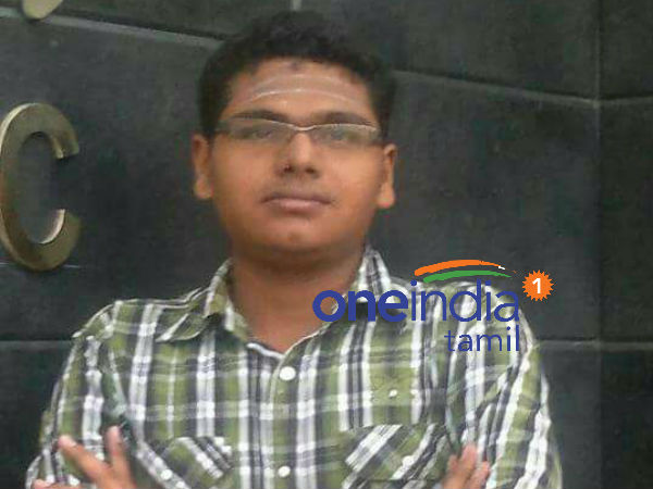 Medical student Krishnaprasath mortal brought bacck to Rameswaram