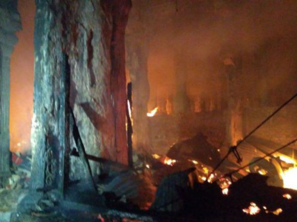 Madurai Temple fire accident Committee starts inspection