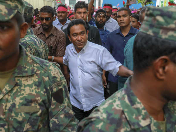 Maldives minister resigns to protest against Yameen government