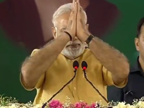 PM Modi learned Tamil much better and started his welcome speech with few tamil words