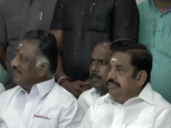 Madras highcourt issued notice to CM Palanisamy and deputy CM O.Paneerselvam