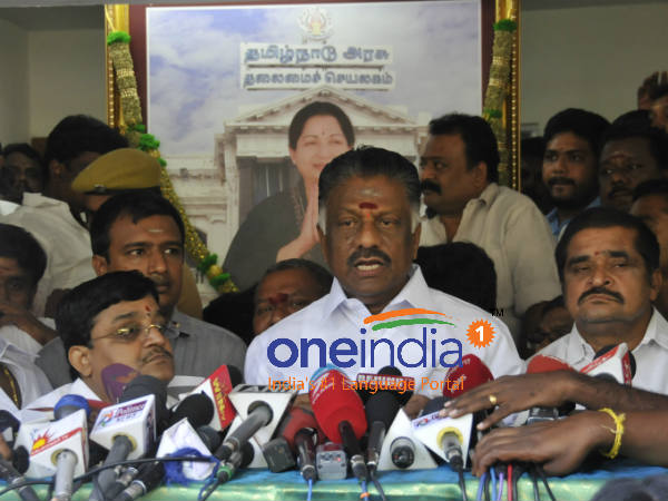 OPS says that Karnataka CM not gives appointment for talks