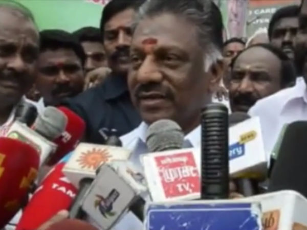 Sasikala secretly controlled ADMK party for 30 year - OPS