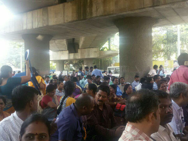 PWD engineers stage protest urging various demands