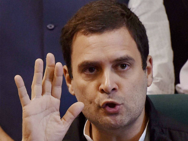 Rahul Gandhi alleges scam in Rafale Jet deal