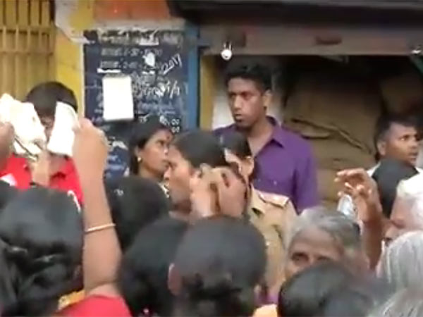 People blockades Ration shop in Nellai