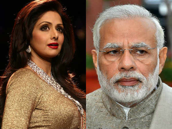 PM Modi Says Saddened By Sridevi's Untimely Death