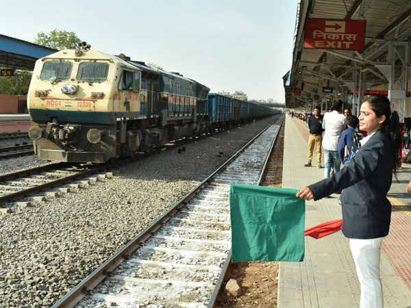 Gandhi Nagar Becomes Countrys First All Women Staff Railway Station