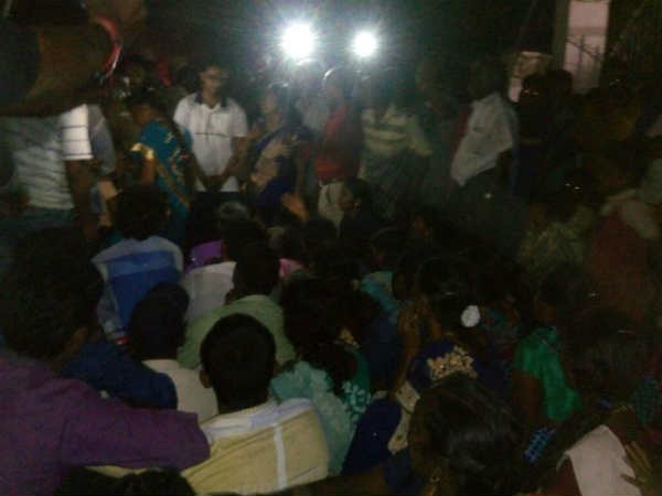 People Protest against Thoothukudi Sterlite Company