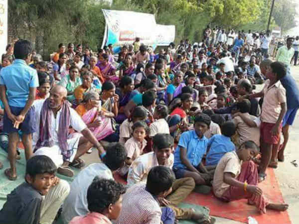 Public Arrested for protesting against Sterlite company
