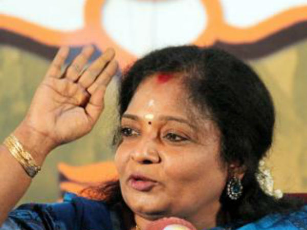 Tamilisai regrets to comment over OPS and PM Modi discussion