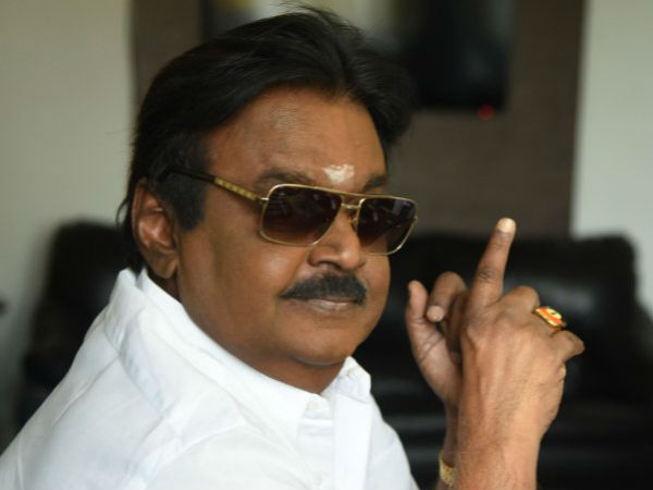 Vijayakanth opposes to Jayalalithaa portrait in Assembly