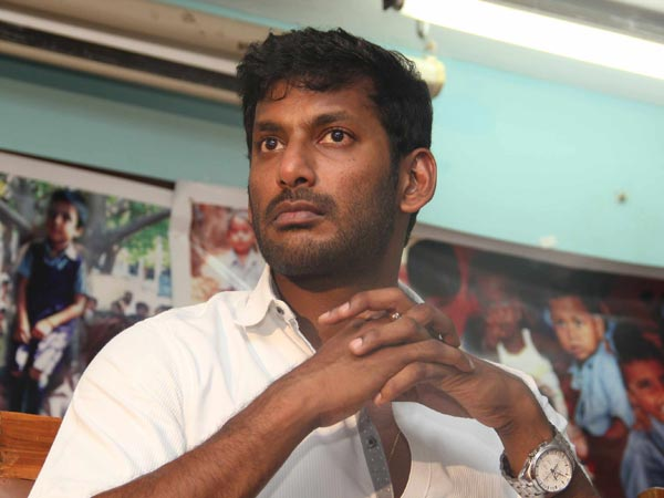 Vishal praises Police officers for arresting rowdies in Chennai