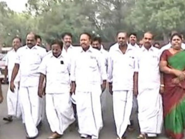 ADMK MPs conduct protest tomorrow for Cauvery issue