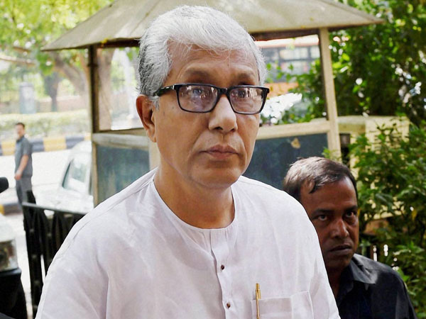 Tiripura elecctions : Chief Minister Manik Sarkar is leading from Dhanpur constituency