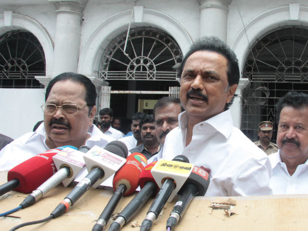 Tamil Nadu govt is not willing local body polls says Stalin