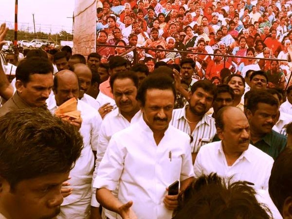 Flag polls around DMK Conference will be mounted over the district says Stalin