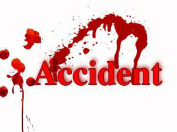 Two persons dead after a jeep hit two wheeler