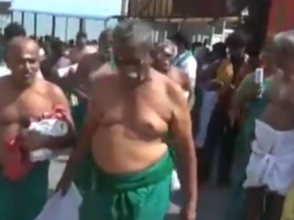 Tiruchendur police files a case against farmers leader Ayyakannu