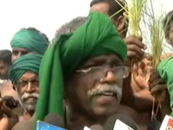Farmer Ayyakkannu condemns central govt for seeking extension on Cauvery issue
