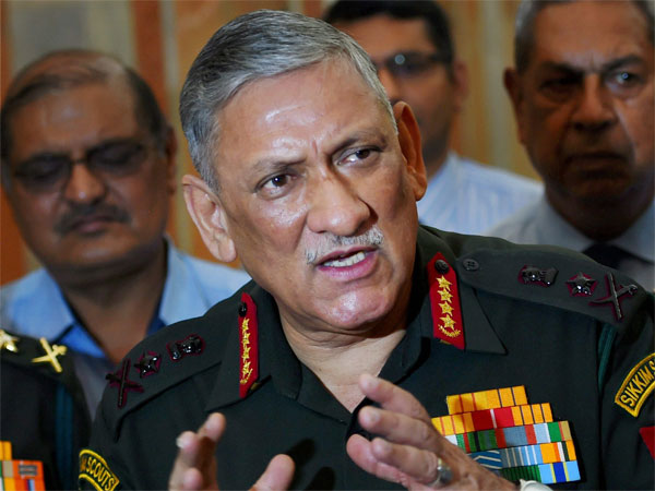 Ready to fight to whatever weapons available says Army Chief Gen Rawat