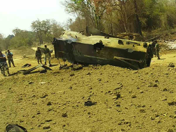 8 CRPF men killed in Maoist attack
