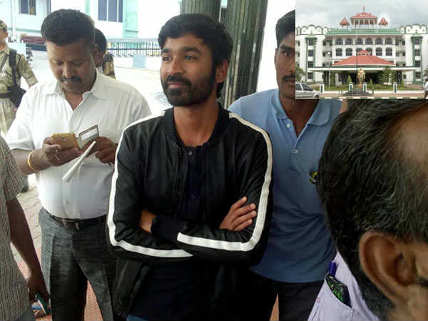 The petition against Dhanush dismissed