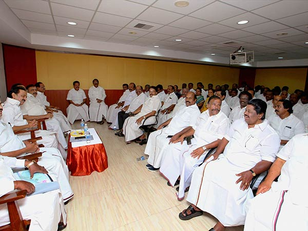 DMK emergency executive committee meeting will be held on today
