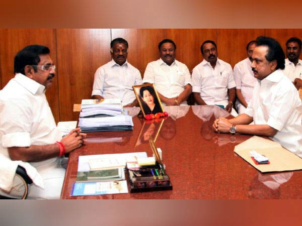 TN CM Palanisamy calls opposition leader M.K.Stalin for a meeting