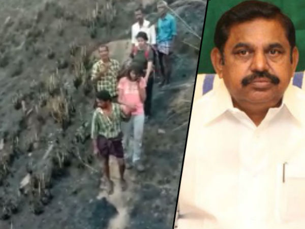 CM Edappadi Palanisamy says that 10 girls has to be rescued