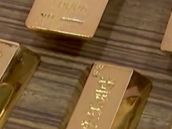 thief steals fake gold bars in china