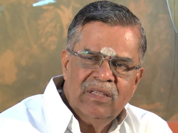 BJP Senior leader Ila.Ganesan hopes centre will definitely form cauvery management board