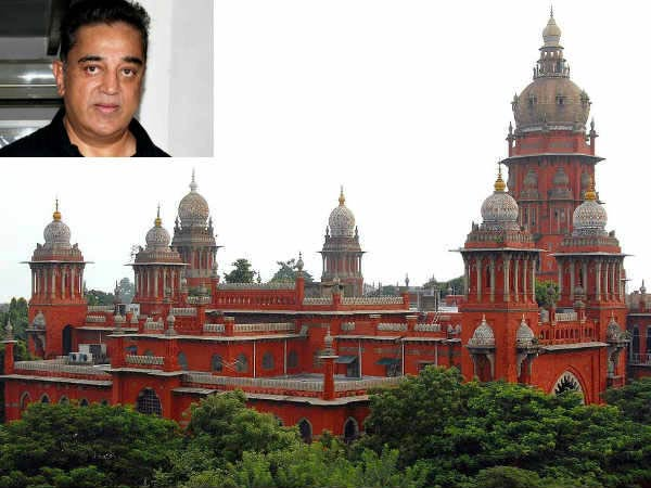 Chennai HC orders to give notice to Kamal hassan