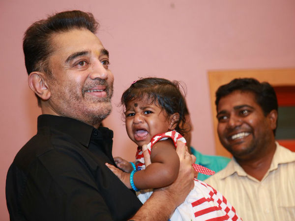 Kamal Haasan names 10 month old girl child