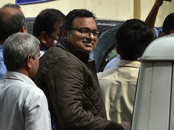 Karti Chidambaram's CBI custody ends today