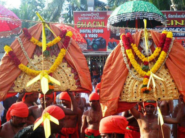 Thooka Nerchai is celebrated in Kollangode