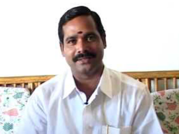 Trichy MP Kumar says that its Navaneethakrishnans personal view