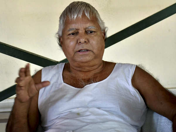 CBI Court to pronounce Sentence for Lalu in fourth fodder scam tomorrow