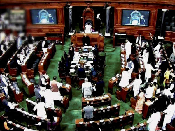 Congress is creating a ruckus in Loksabha saying, attempting to rig the Gorakpur results are on by the centre