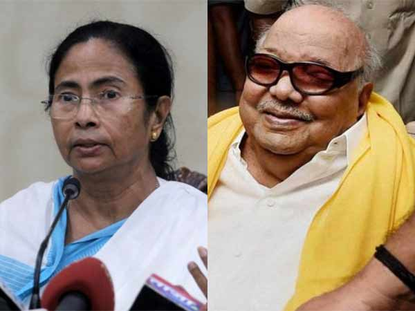 Mamata Banerjee may meet DMK chief Karunanidhi at Chennai tentatively on April 11 or 12