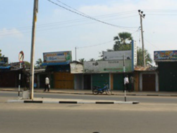Shutdown in Jaffna and Mannar