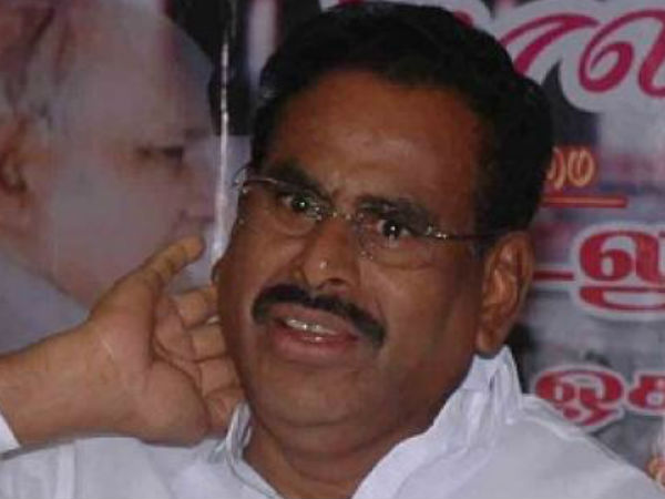 Natarajan wanted to become MP in final days
