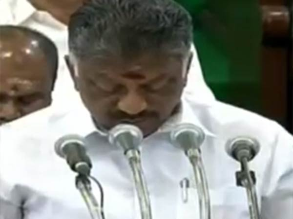 Tamilnadu grown by the Dravidian movements : O.Panniriselvam