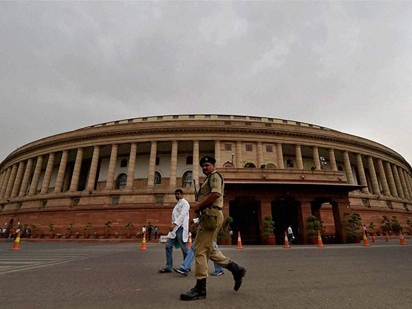 Rajya sabha adjourned till 2 pm for opposition parties uproar